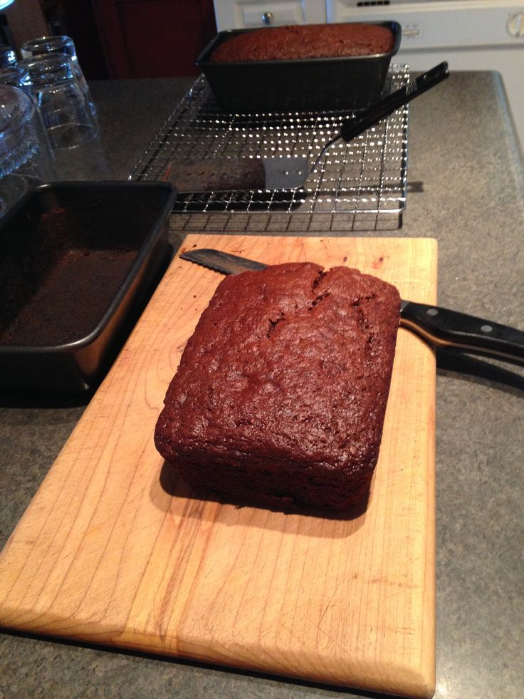Chocolate banana bread (no oil)