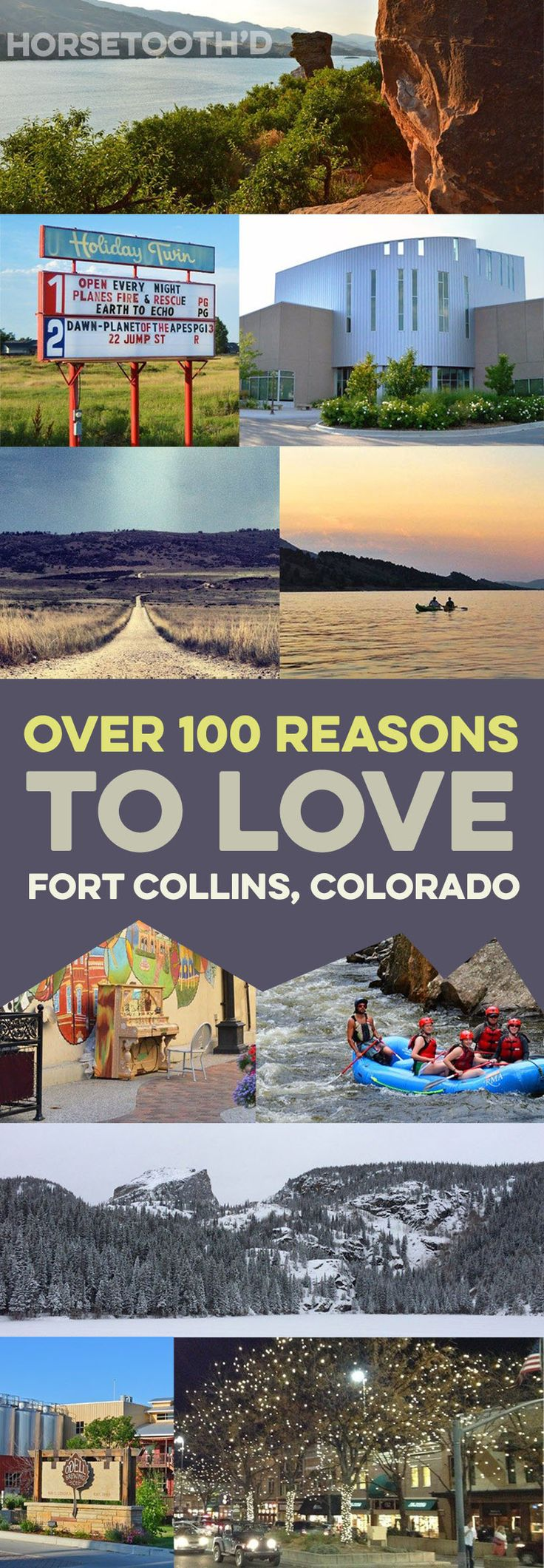 Over 100 Reasons to Love Fort Collins Colorado