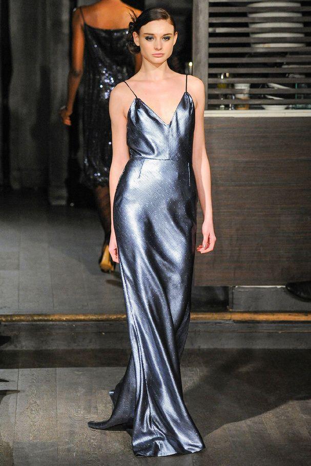La robe nuisette du défilé Douglas Hannant à New York