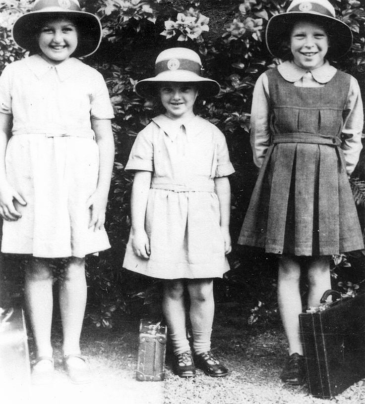 The Crakanthorp Girls - Patsy, Helen and Rosemary.