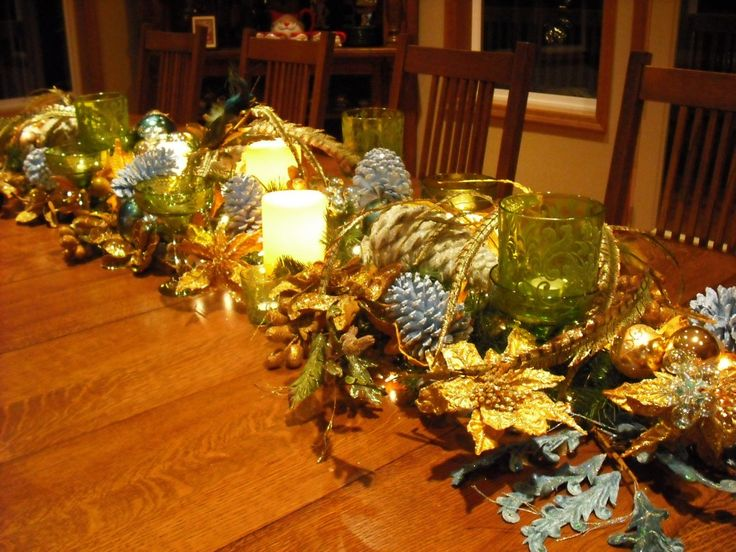 Decorated Tables 86 best christmas table decorations ideas images on pinterest
