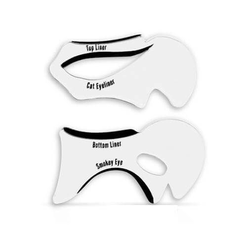 Cat Eyeliner & Smokey Eye Sjabloon