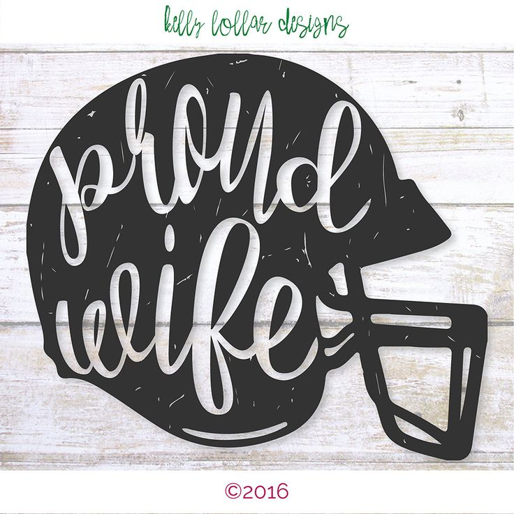 2 Proud Wife svgs | Football Wife svg | Coach's Wife svg | Football Helmet svg…