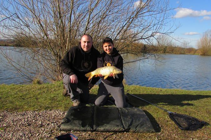 Small-Group Carp Fishing Experience in London  Cast your line for the catch of the day on this 5-hour small-group carp fishing experience in London. Visit Tyler's Common Fishery in the London suburb of Havering, and collect your equipment to start fishing. Bait your line then cast off into the clear waters, where hungry carp swim freely. Hear handy hints and tips to improve your chances of a bite, and enjoy personal attention from your instructor on this small-group tour — lim...