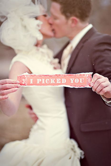 i picked you...so sweet!