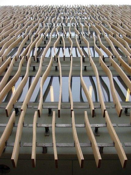 New York Skidmore Owings Amp Merrill Wood Facade