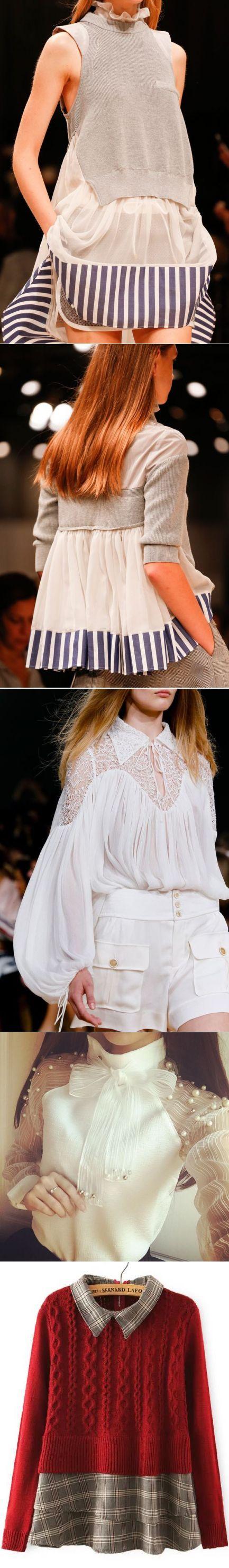 Белые блузки (идеи) / Блузки / ВТОРАЯ УЛИЦА