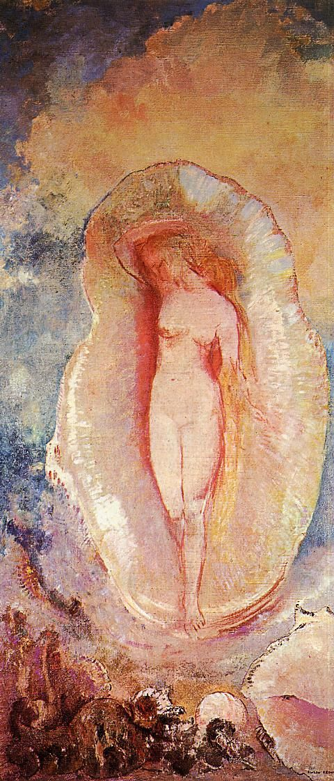 Odilon Redon - The Birth of Venus, 1912.  Private collection