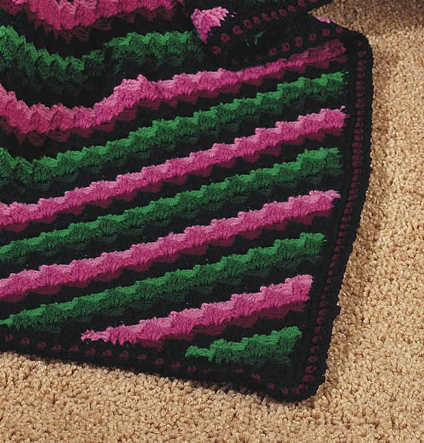 Crochet Pattern Diagonal Afghan : 1000+ images about Crochet on Pinterest