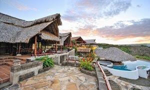 Groupon - Stay at Hacienda Puerta del Cielo Ecolodge & Spa in Masatepe, Nicaragua in Masaya, Nicaragua. Groupon deal price: $190