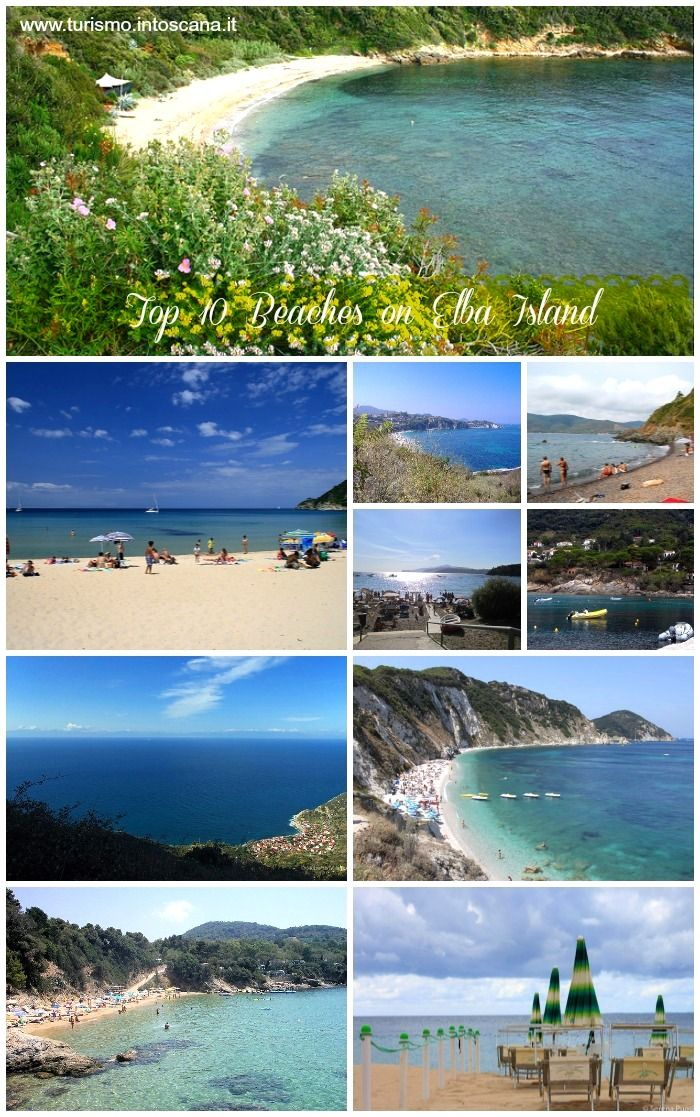 Top 10 beaches on Elba Island in Tuscany