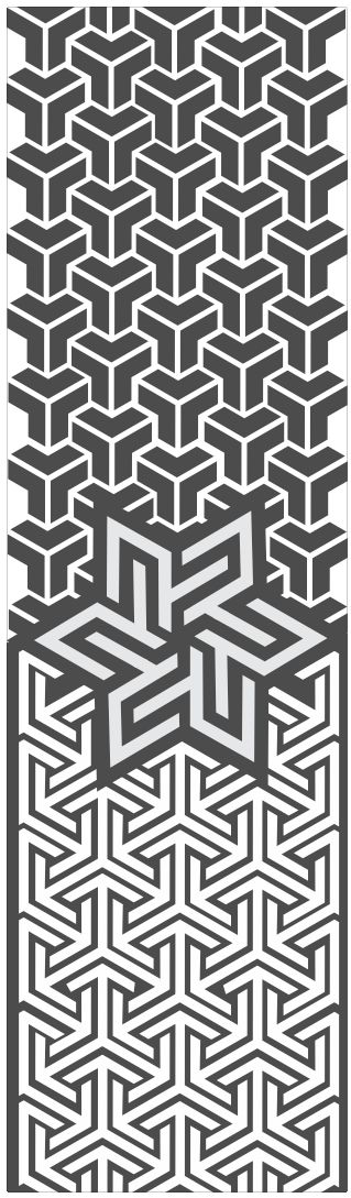 Geometric tesselation, inspiration for a tattoo or interior home ornament - Design by Imho | Roberto Conti - Visit _> http://imhoprogress.com