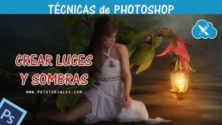 Crear luces y sombras - Photoshop Tutorial Español