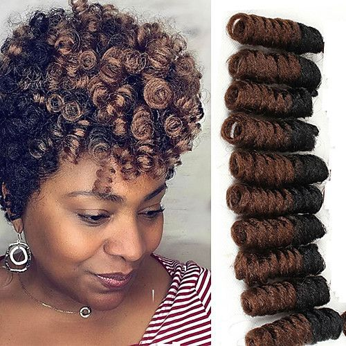 Crochet Bouncy Curl Twist Braids Hair Extensions Kanekalon Hair Braids 2017 - $7.62