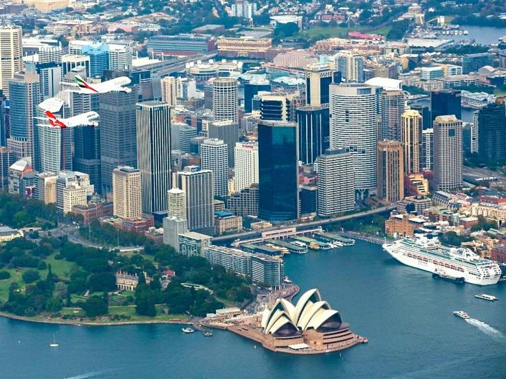 Sydney, Australia - Home of Qantas Airlines