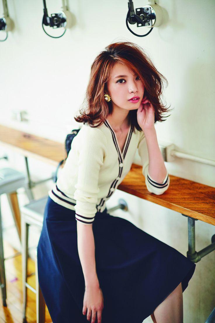 レディースファッション, オフィスファッション, アジアンファッション, 女性のファッション, 視覚醤油, 毎日のポーズ, スカートスタイル, And Girl, Kirei