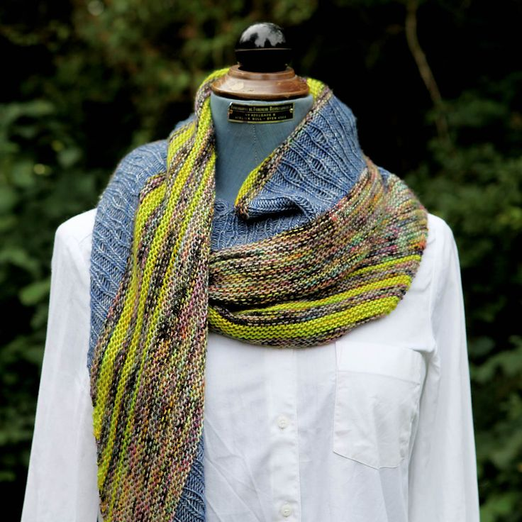 Inspirational pictures of our Electric Raindrops Shawl with drop stitch and lace elements, knit in soft, colourful Madelinetosh - Tosh Merino Light in Electric Rainbow, Maple Leaf and Favorite Pair colourways. The pattern can be purchased in English and Danish at yarnlovers.net or Ravelry >> http://www.ravelry.com/patterns/library/electric-raindrops
