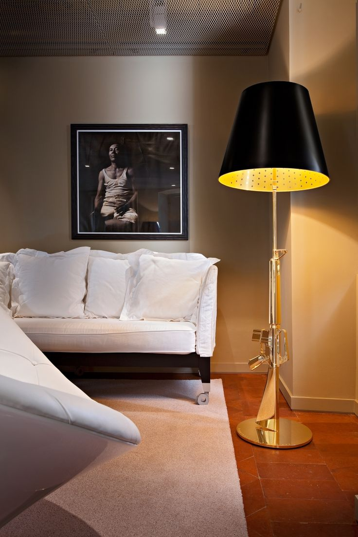 Inspirational Guns Lounge Gun Floor Lamp by Flos The Guns u Lounge floor lamp not only provides direct and ambient lighting but also an impressive home accessory
