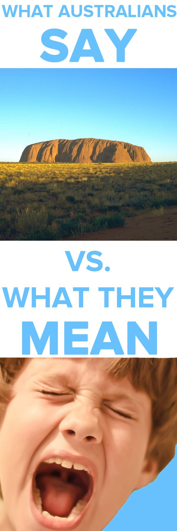 Things Australians Say Vs. What They Mean