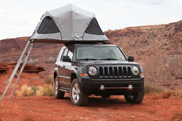 Jeep Patriot fold out tent