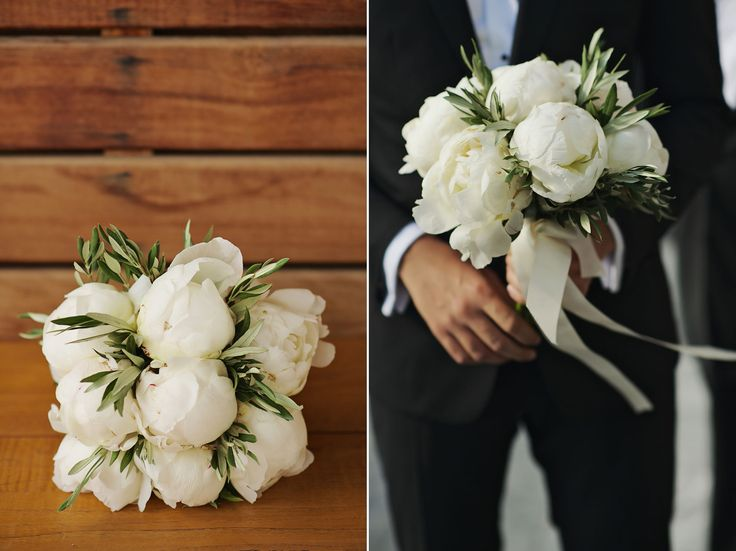 Ready to give away his heart and... this amazing bouquet of course ;)