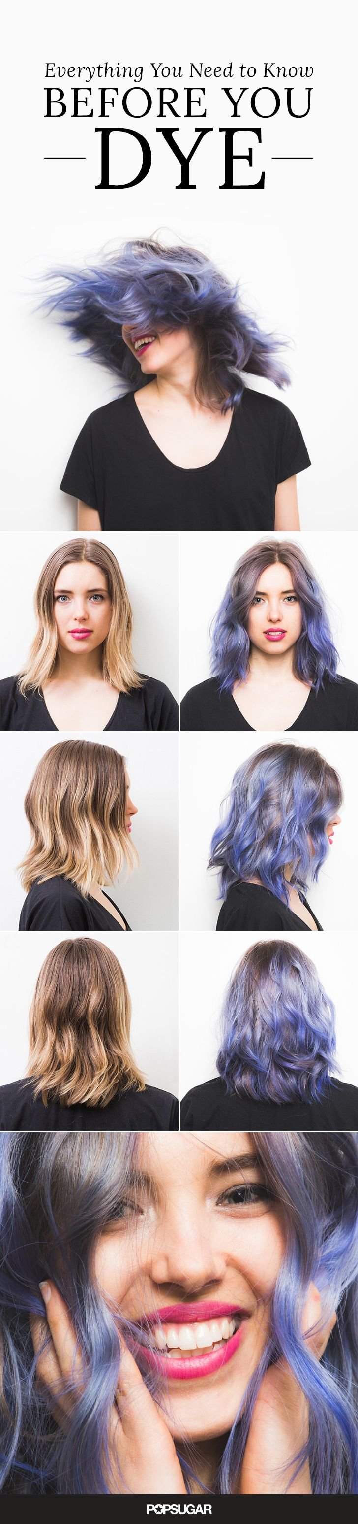 how to make your hair greasy to dye it