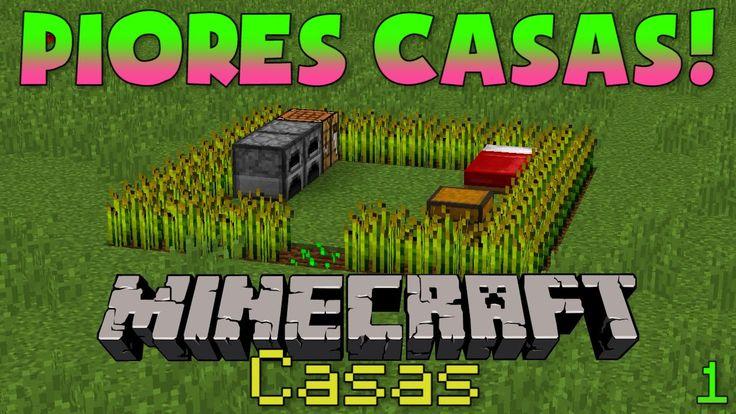 5 PIORES CASAS do Minecraft!