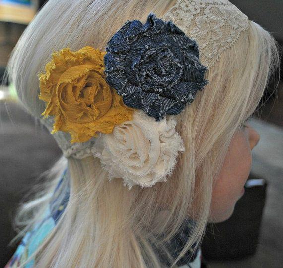 Flower Headband Tutorial: 466 Best Images About Headbands, Fabric Flowers Tutorials
