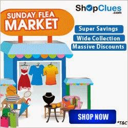 Shopclues Sunday Flea Market Deals 25 Jan : All Products at Lowest Online Price - Best Online Offer