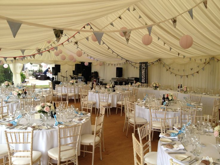 A Stunning Wedding Marquee By Peninsula Marquees