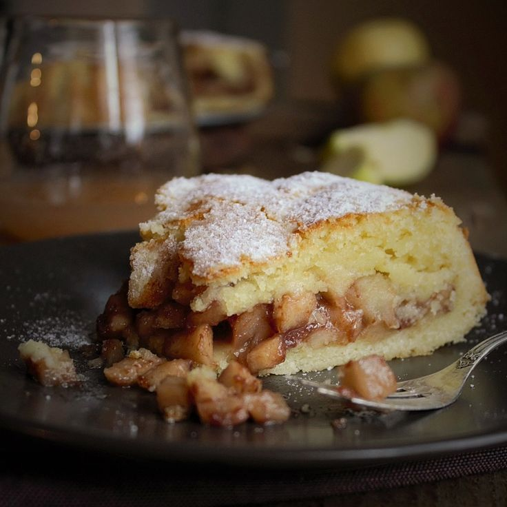 Apple heart cake - Torta cuor di mela