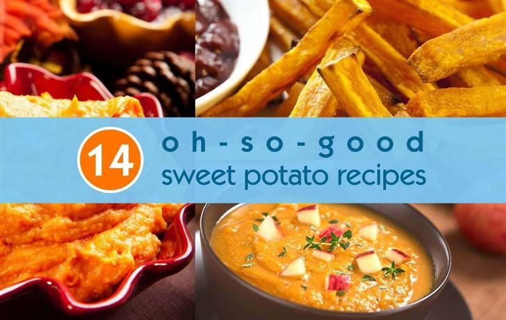 14 oh-so-good sweet potato recipes