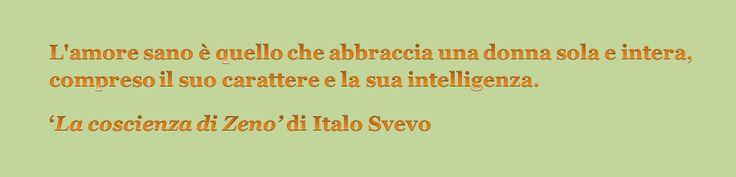 da 'La coscienza di Zeno' di Italo Svevo