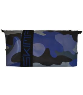 """Trousse """"Infidèle"""" camouflage bleu"""