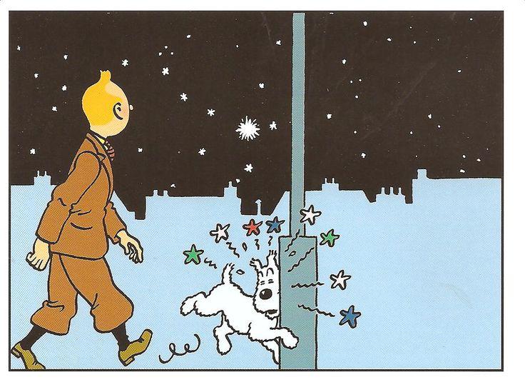 Tintin and the Shooting star