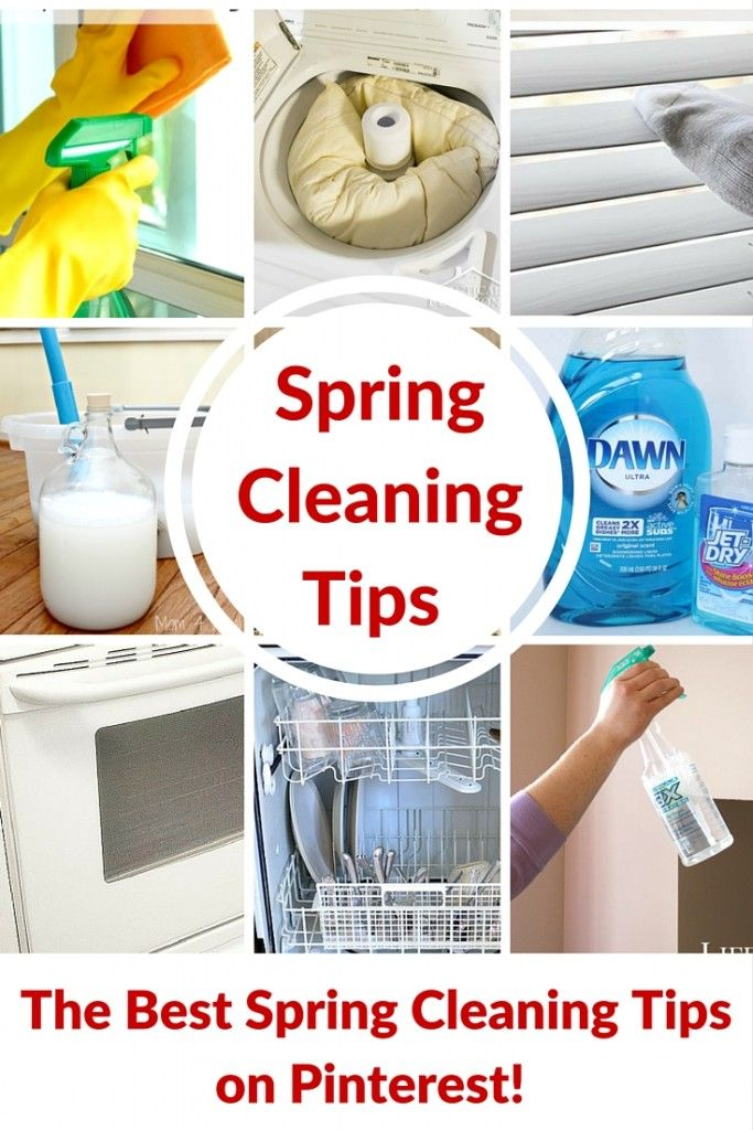 The Best Spring Cleaning TIps on Pinterest
