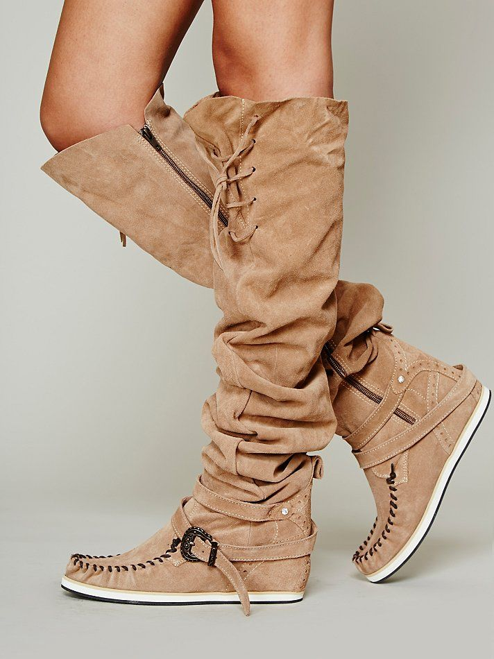 El Vaquero Monarch Mocc Boot at Free People Clothing Boutique