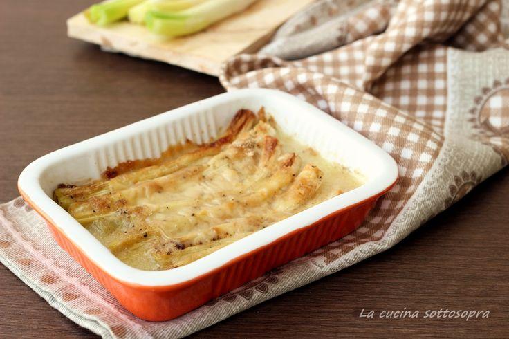 Porri+gratinati+alla+besciamella