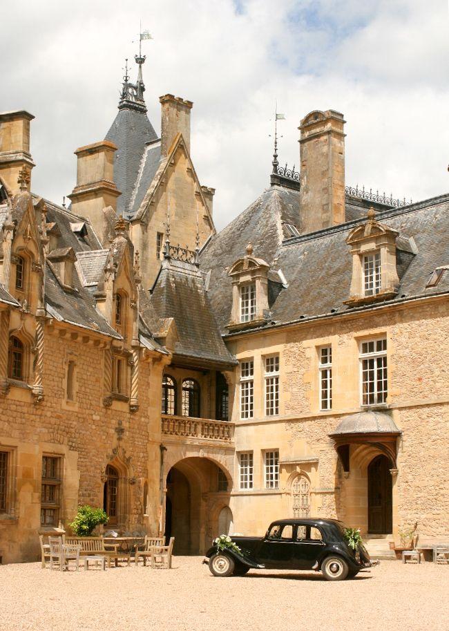 Chateau de Prye, Nevers, Burgundy, France...