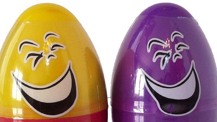 Play Toys Oyun Hamuru Büyük Sürpriz Yumurta Oyuncak Açımı