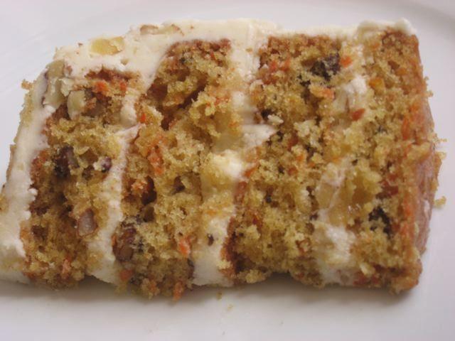 Carrot cake o Torta de zanahorias   En mi cocina hoy