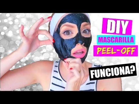 "DIY: MASCARILLA ""PEEL OFF"" REMUEVE TODO!! ¡ADIÓS PUNTOS NEGROS!   Katie Angel - YouTube"