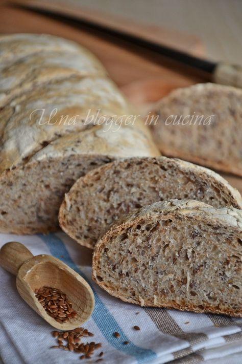Pane integrale ai semi di lino (3)