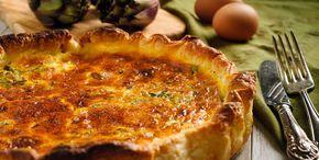 Torta rustica ai carciofi e formaggio - http://www.piccolericette.net/piccolericette/torta-rustica-ai-carciofi-e-formaggio/