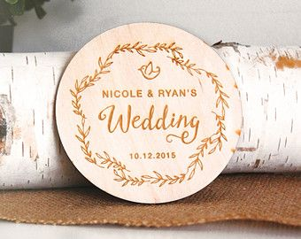 AS SEEN IN WEDDING PLANNER MAGAZINE! September 2014 AS SEEN ON THE RURALIST.CA AS SEEN ON HEY JULES! AS SEEN ON CHCH MORNING LIVE  DETAILS: • Each purchase is for ONE COASTER* • 3.5 x 3.5 Baltic Birch Plywood (Aprox 1/8 thickness). • Coaster is laser cut to size and DOES NOT have a bark edge. • This item is left untreated for a natural finish. • Use this listing to order 1-50 pieces.*  Coasters are laser cut with a rustic floral design as shown above! Each set of coasters will be customi...