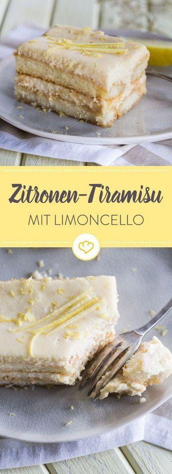 Tiramisu de limão com limoncello   – Kochen