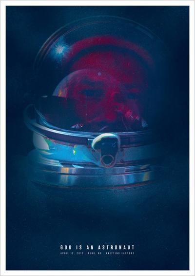 Gig Posters by Rodrigo Maia, via Behance