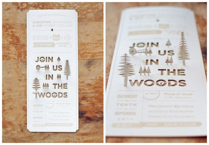 celtic outdoor fall wedding ideas | Deva's blog: Unique diy wedding invitations