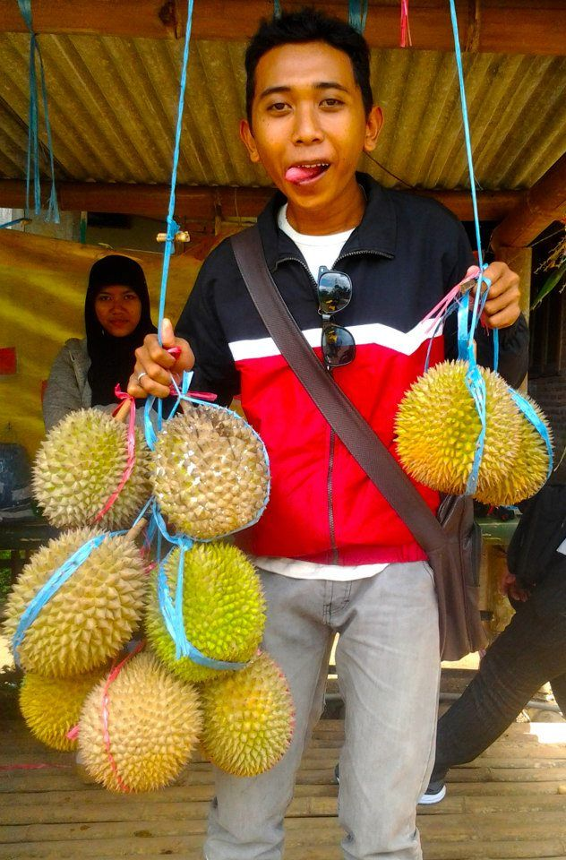 delicious Durian...catch them in Pasuruan East Java Indonesia