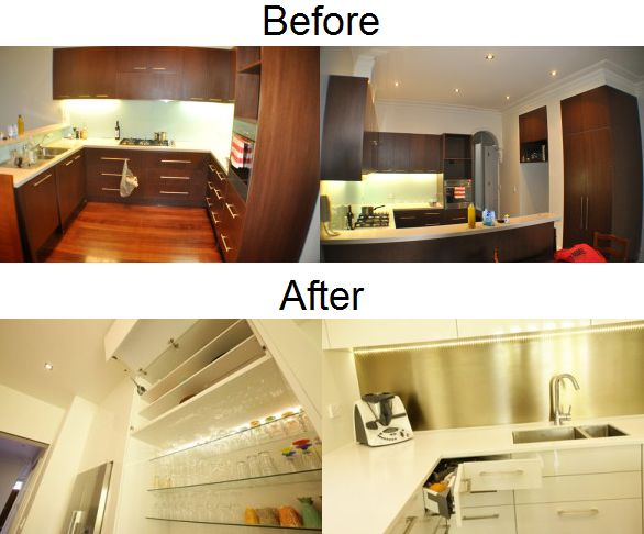 What an amazing before & after. http://www.smarterkitchensmelbourne.com.au/fashionably-engineered-kitchen-design-ideas/